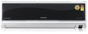 Samsung AR12FC5EFBH Split AC (1 Ton, 5 Star Rating, Black)
